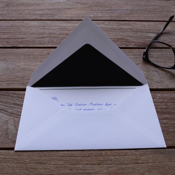 Briefumschlag Beschriften Bei Trauer : Hochzeitseinladung umschlag beschriften trauer beileid